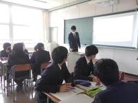湖南高校 授業参観の様子