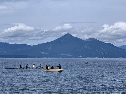 ボート部練習風景