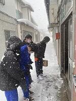 除雪ボランティア